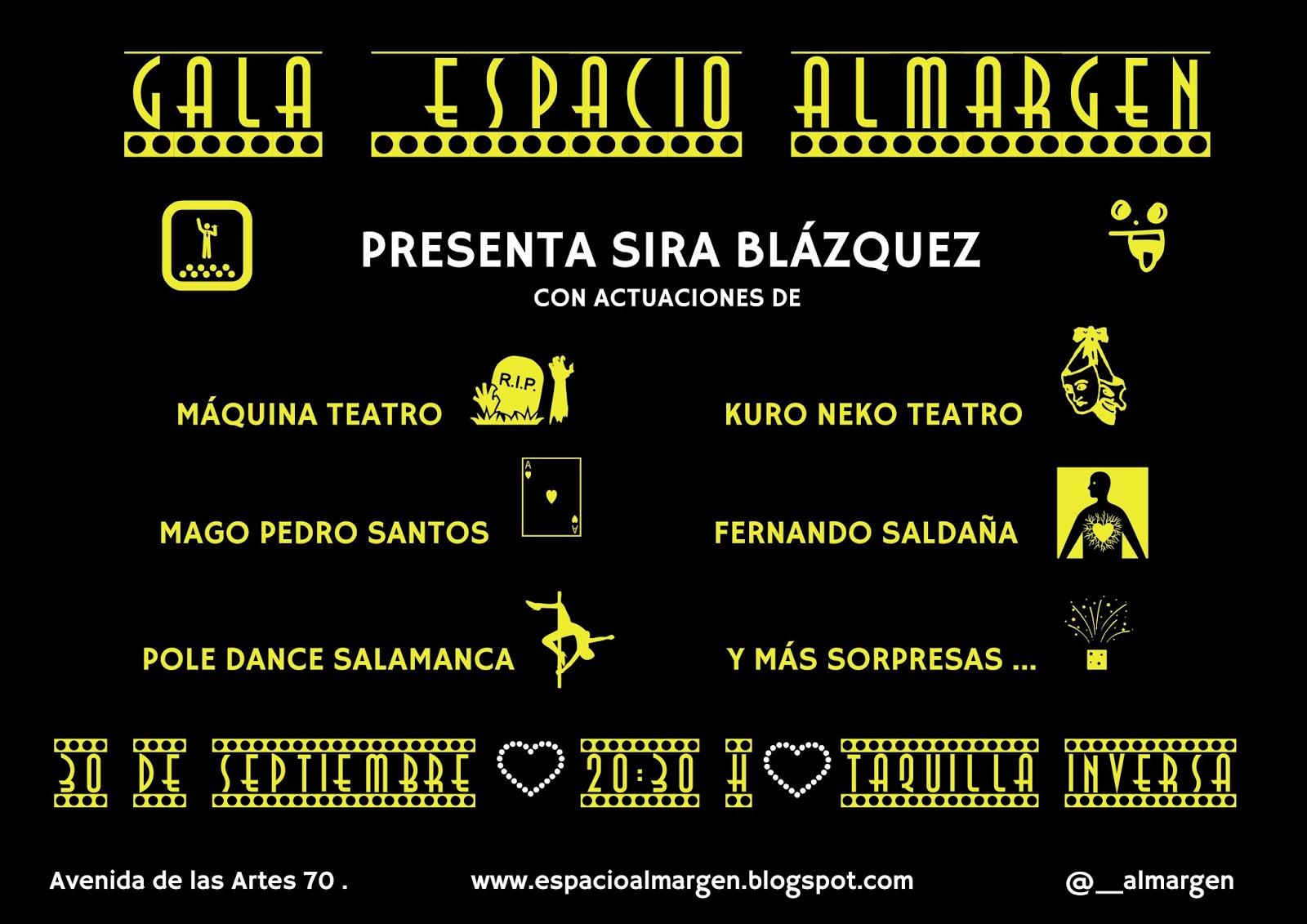 Gala Espacio __Almargen Salamanca Septiembre 2017