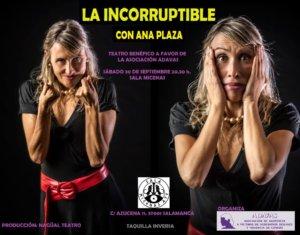 La incorruptible Sala Micenas Adarsa Salamanca Septiembre 2017