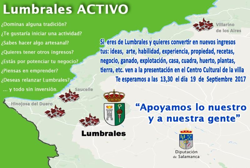 Lumbrales Activo, Septiembre 2017