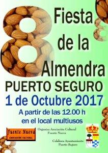 VIII Fiesta de la Almedra Puerto Seguro Octubre 2017