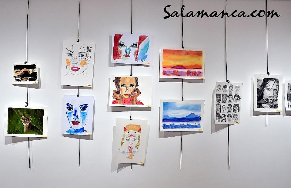 Salud Mental AFEMC Arte en compañía Espacio Joven Salamanca Octubre 2017