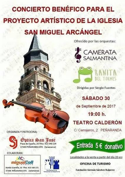 Camerata Salmantina + Ranita del Tormes Teatro Calderón Peñaranda de Bracamonte Septiembre 2017