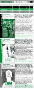 filmo Van Dyck 2017, del 8 al 14 de septiembre