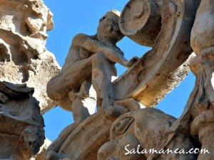 Onanista en la Universidad de Salamanca