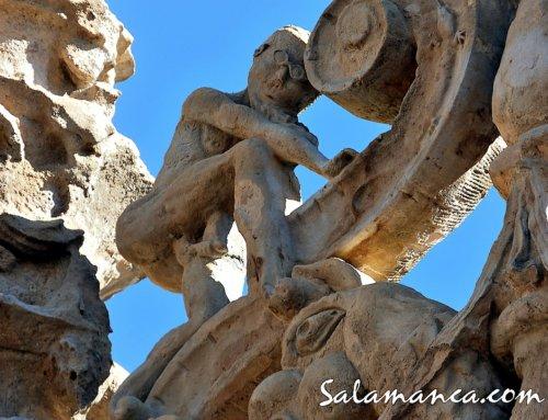 Onanista en la Universidad de Salamanca.