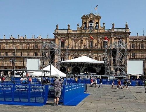 La Asociación Ciudadanos por la Defensa del Patrimonio reitera la necesidad de que se realice un informe técnico sobre la incidencia de los espectáculos en la Plaza Mayor.