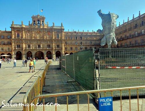 El Elefante de la Plaza Mayor también se va de Ferias.