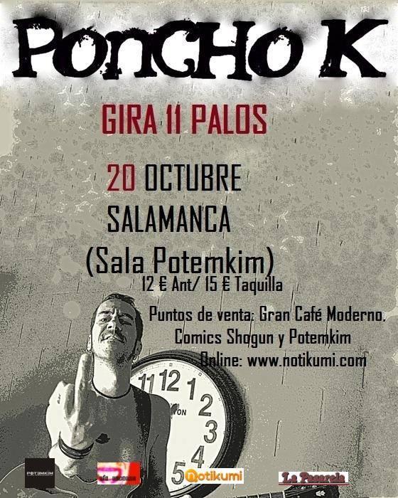Poncho K Potemkim Salamanca Octubre 2017