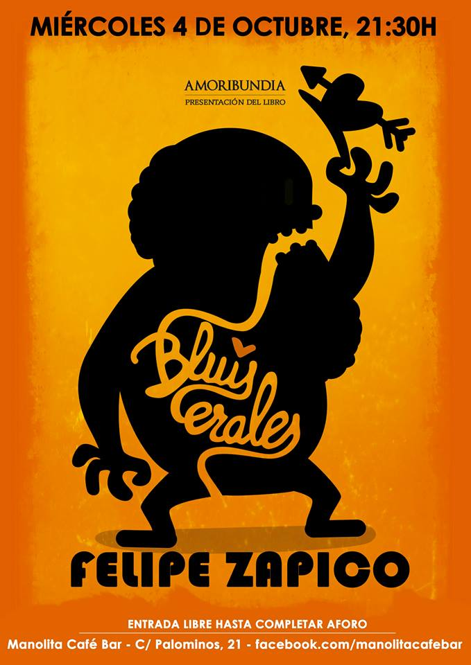 Felipe Zapico Amoribundia Manolita Café Bar Salamanca Octubre 2017