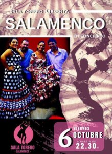 Salamenco Sala Torero Salamanca Octubre 2017
