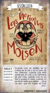 Las hermanas Molsen La Malhablada Salamanca Octubre 2017