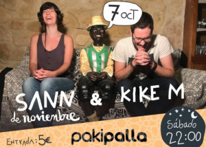 Sann & Kike M Pakipalla Salamanca Octubre 2017