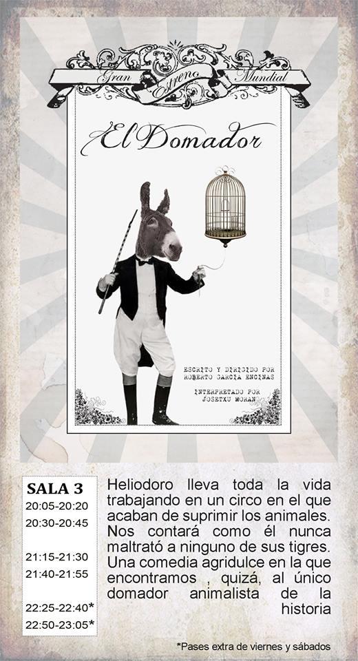 El domador La Malhablada Salamanca Octubre 2017