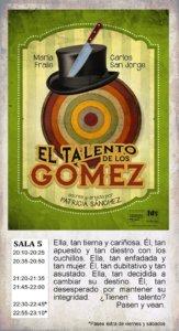 El talento de los Gómez La Malhablada Salamanca Octubre 2017