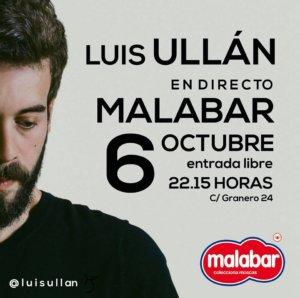 Luis Ullán Malabar Salamanca Octubre 2017