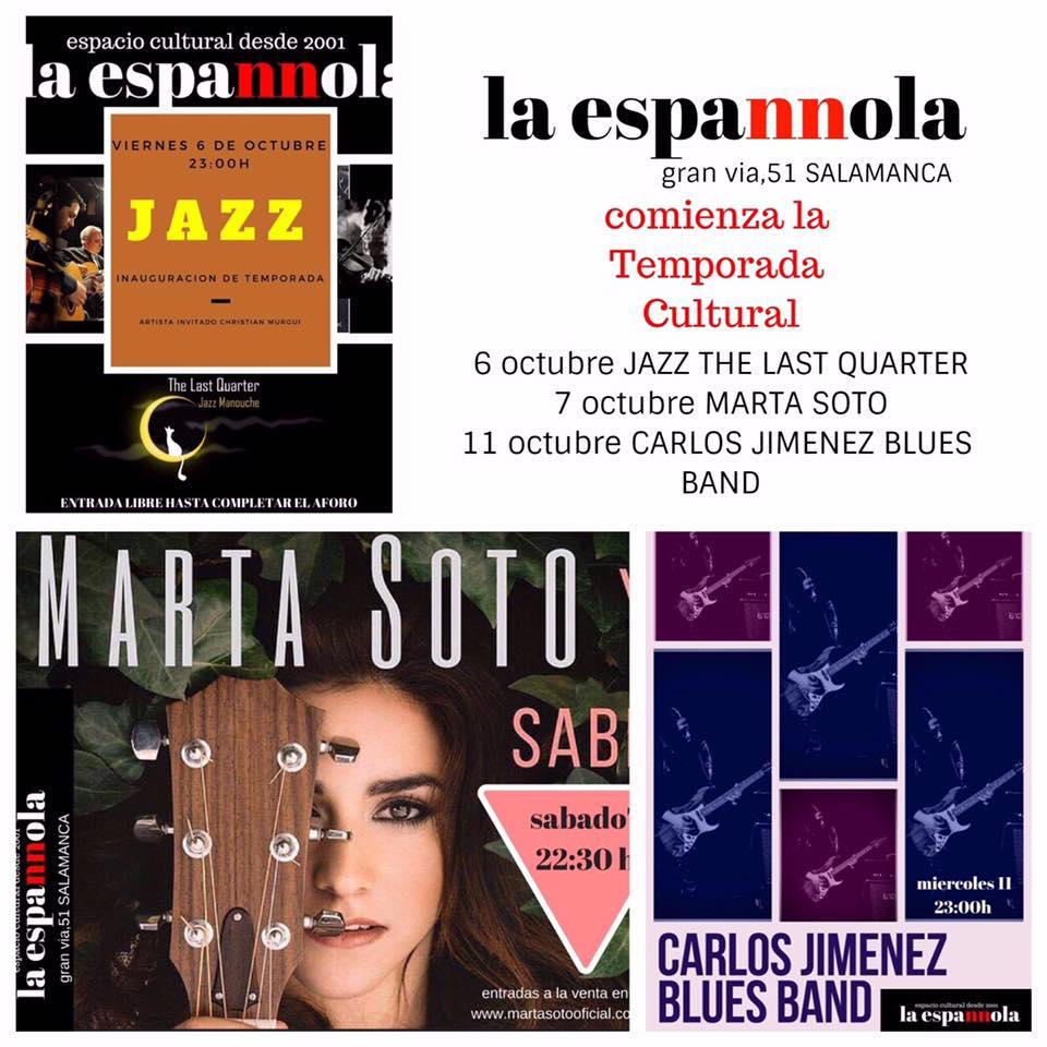 La Espannola Salamanca Octubre 2017