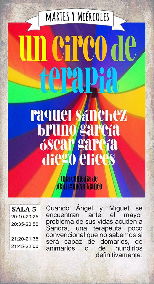 Un circo de terapia La Malhablada Salamanca Octubre 2017