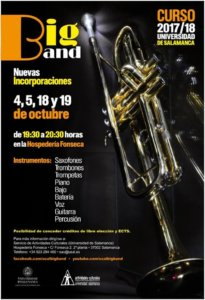Te apuntas a la Big Band de la Universidad de Salamanca