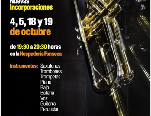 ¿Te apuntas a la Big Band de la Universidad de Salamanca?