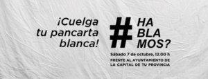 #Hablamos? Plaza Mayor Salamanca Octubre 2017