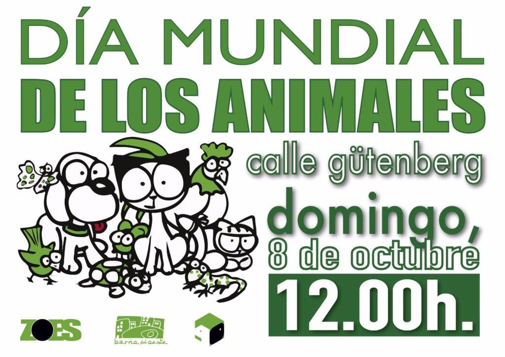 Día Mundial de los Animales ZOES Salamanca Octubre 2017