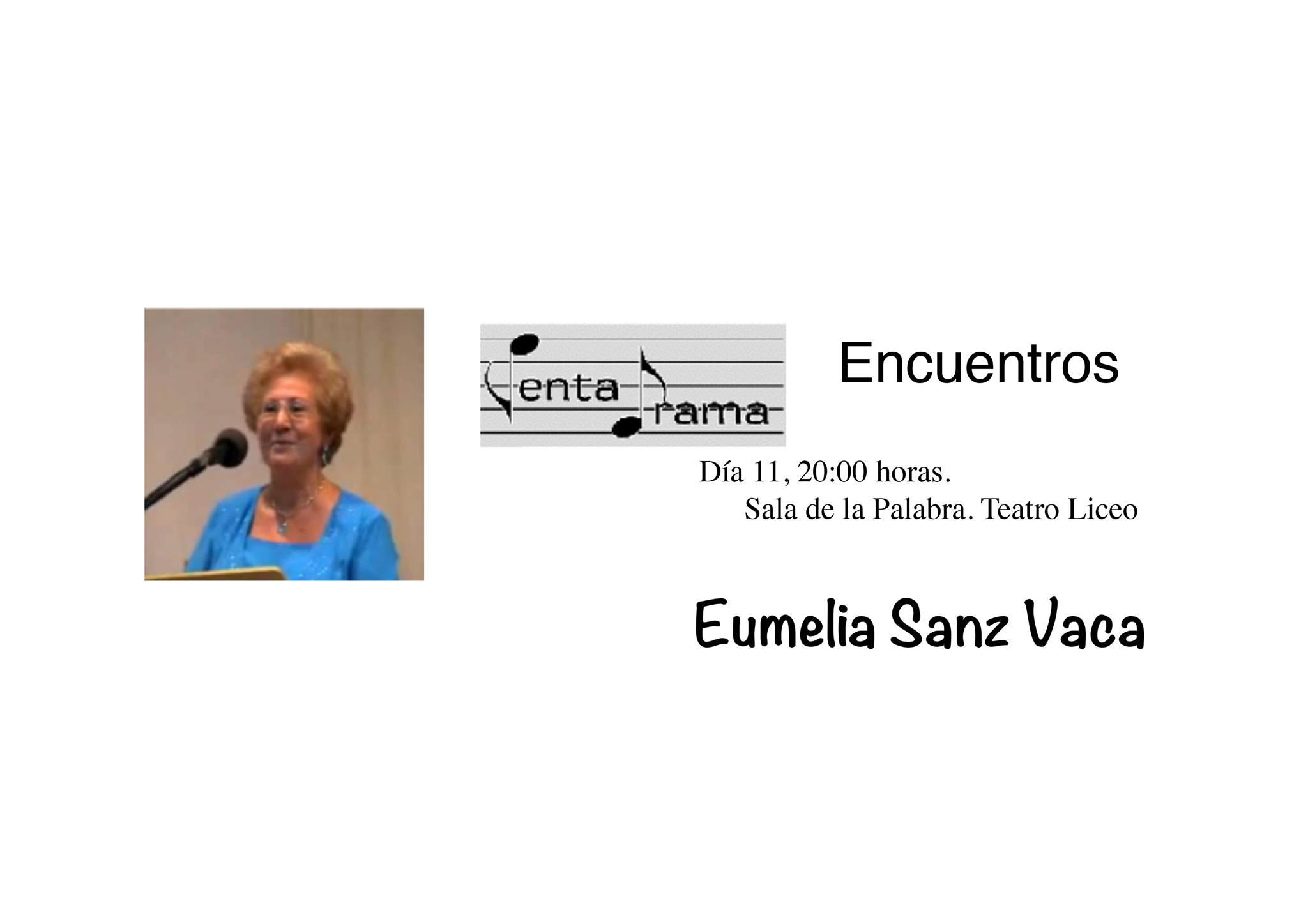 Eumelia Sanz Vaca Pentadrama Salamanca Octubre 2017