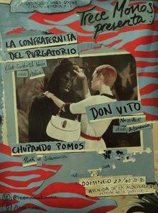 Don Vito + La Confraternita del Purgatorio + Chupando Pomos Trece Monos Salamanca Octubre 2017