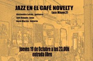 Alejandro Lucas Trío Café Novelty Salamanca Octubre 2017