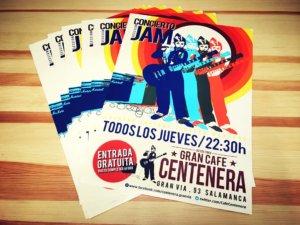 Concierto Jam Session Centenera Salamanca 2017-2018