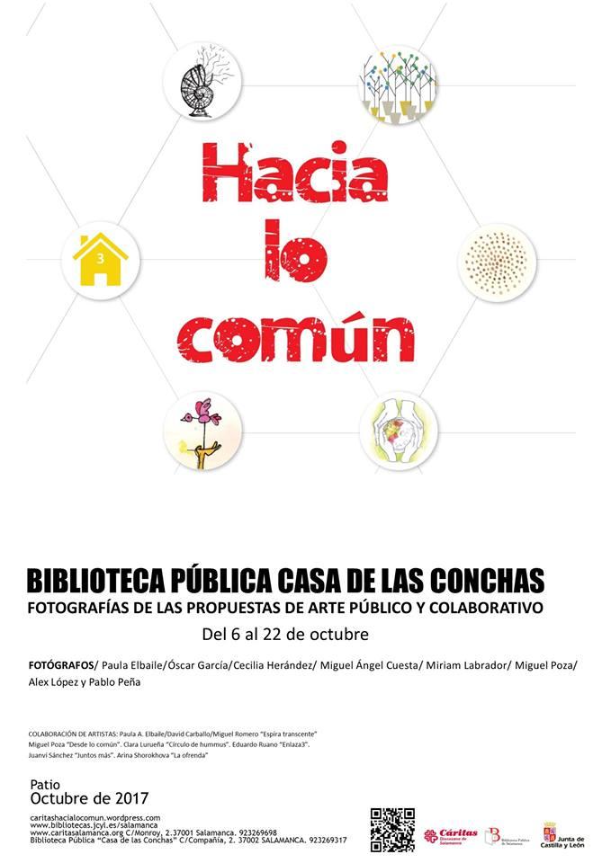 Hacia lo común Casa de las Conchas Salamanca Octubre 2017