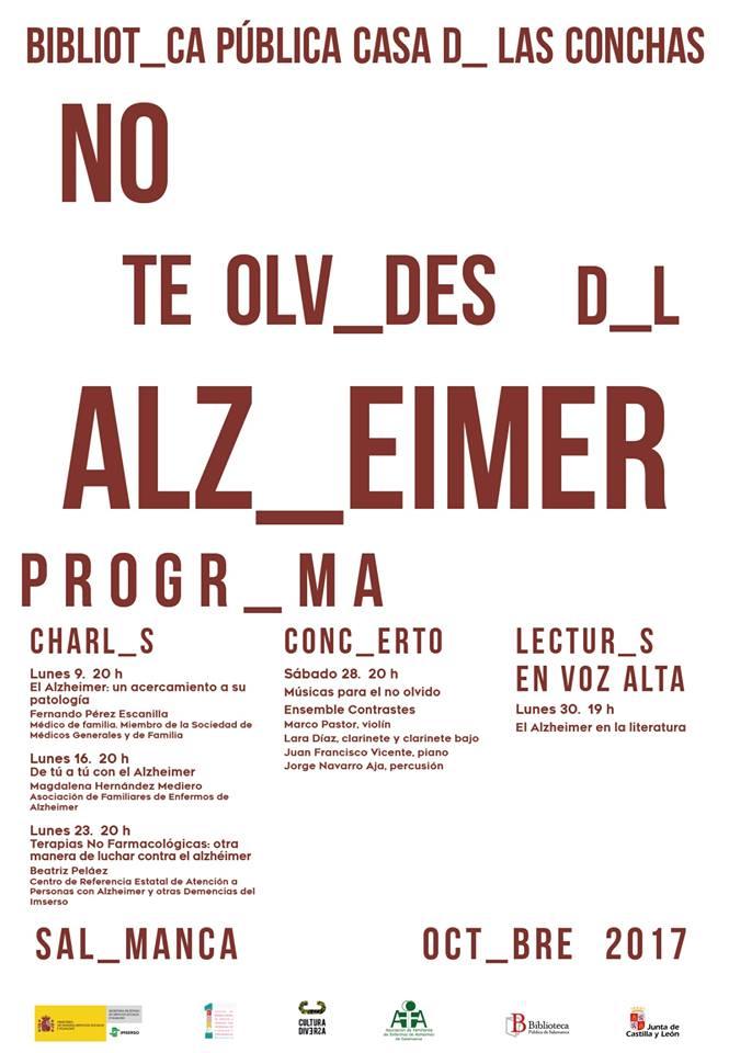 No te olv_des d_l Alz_eimer Casa de las Conchas Octubre 2017