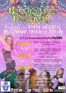 Bellydance Festival Hall 88 Salamanca Octubre 2017