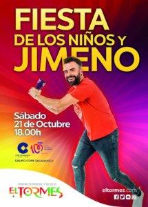 Fiesta de los Niños y Jimeno Centro Comercial El Tormes Santa Marta de Tormes Octubre 2017