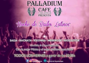 Noche de Bailes Latinos Palladium Café Salamanca 2017-2018