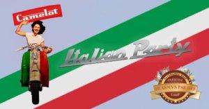 Italian Party Camelot Salamanca Octubre 2017