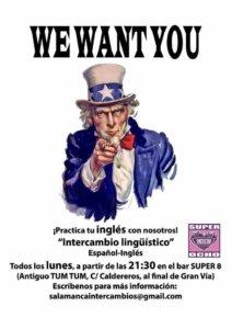 Intercambio Lingüístico Super 8 Salamanca 2017-2018