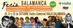 Feria Internacional de Coleccionismo Discográfico y Cinematográfico Centro Comercial Vialia Salamanca Octubre 2017