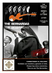 The Bernardas The Molly's Cross Salamanca Octubre 2017