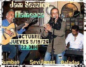 Jam Session Flamenca The Molly's Cross Octubre 2017