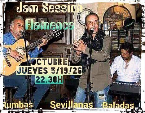 Jam Session Flamenca The Molly's Cross Octubre 2017