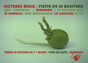 Fiesta de la Aceituna Asociación de Vecinos Barrio del Oeste ZOES Salamanca Octubre Mojo 2017