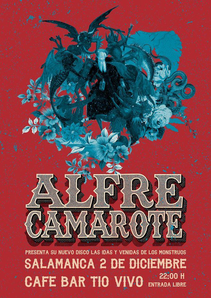 Alfre Camarote Tío Vivo Salamanca Diciembre 2017