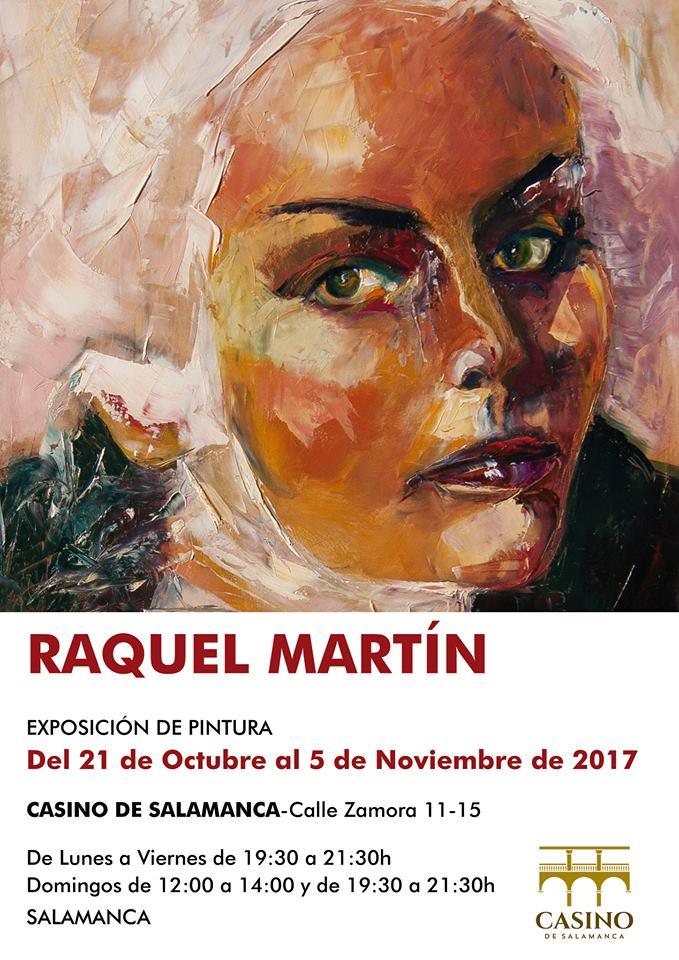 Raquel Martín Casino de Salamanca Octubre noviembre 2017