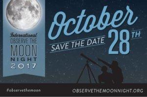 Noche Internacional de Observación de la Luna OSAE Salamanca Octubre 2017