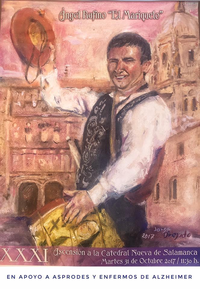 XXXI Ascensión a la Catedral Nueva El Mariquelo Salamanca Octubre 2017