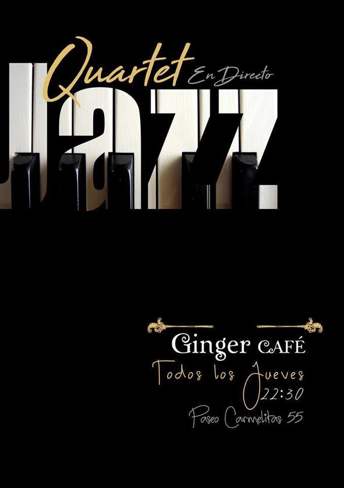 Quartet Jazz Ginger Café Salamanca 2017-2018