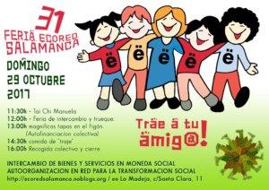 XXXI Feria Ecored Salamanca La Madeja Octubre 2017