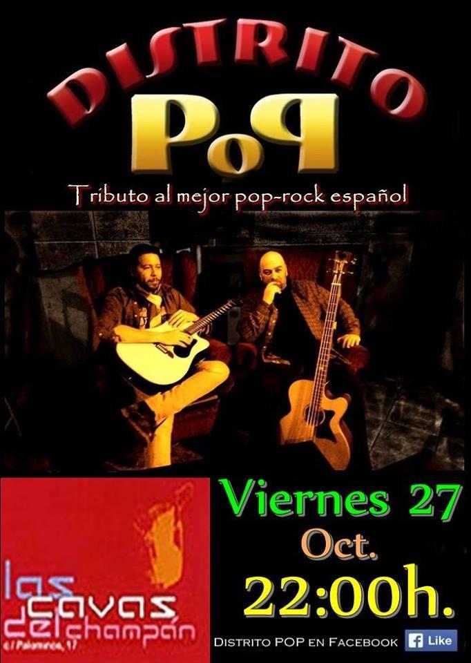 Distrito Pop Las Cavas del Champán Salamanca Octubre 2017