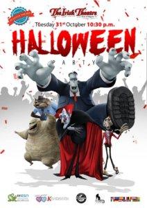 Halloween Party The Irish Theatre Salamanca Octubre 2017