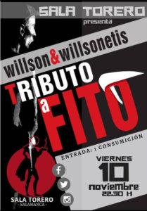 Willson & Willsonetis Sala Torero Salamanca Noviembre 2017
